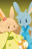和兎 双子座の画像