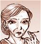 宿屋の女主人 スーザンの顔画像