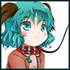 読経するヤマビコ 幽谷響子の画像